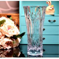 Best Clear Castle Decorative Glass Vases Stock Handwash Classical Type For Flower wholesale