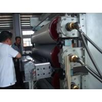 Best 0.5-2mm Rigid PVC Sheet Extrusion Line Customized Product Width With Protective Film wholesale