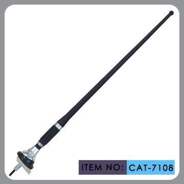 Cheap Universal Auto Am Fm Antenna Black Pvc Mast 1300mm Cable Length for sale