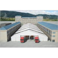 Quality Waterproof Industrial Canopy Tent Fabric Shelter Systems With Transparent Skylight wholesale