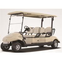 Quality Electric Car 4 Seater Golf Carts With 3 KW KDS Motor For Amusement Park wholesale