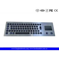 Buy cheap Dust-Proof Illuminated Metal Keyboard Silver With 65 LED Individually-Lit Keys from wholesalers