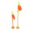 1m 1.5m Soccer Field Corner Flags , OEM Sports Corner Flags for sale