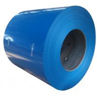 Best Durable Outside Color Coated Steel Sheet Coil With Hot Dipped Galvanization wholesale