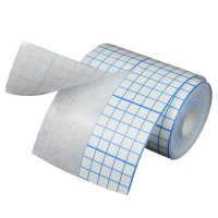 Medical disposables Non Woven Adhesive Dressing Fix Tape Fixation Micropore Surgical Fixing Tape 10*10cm CE ISO for sale