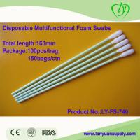 Ly-Fs-740 Disposable Medical Dental Foam Swabs for sale