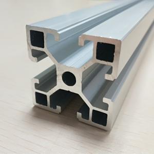 Best Fine Metal Anodize Aluminum Spare Parts T Slot Extruded Frame Profile wholesale