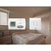 Best Green Backlight RF Electric  Room Thermostat For Heating 2*AA Size Battery wholesale