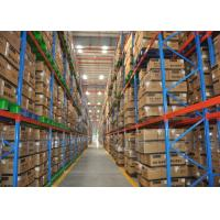 Buy cheap Large Scale Industrial Heavy Duty Racking with Q235B Material(Galvanized/Powder from wholesalers
