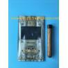 Best Manufacturers custom-made sales gold printing cigar packaging moisturizing zipper bag wholesale