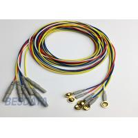 Best BCI Researcher EEG Electrode Cap Used Multicolor Coated Gold EEG Electrodes Din 1.5 wholesale