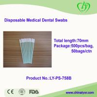 Ly-PS-758 Disposable Medical Dental Polyester Swabs for sale