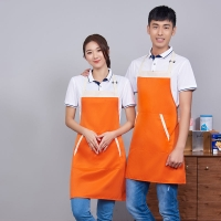 Best Customized Logo Printing Plain Design Polyester Men Women Protective Kitchen Cleaning Cooking Apron wholesale