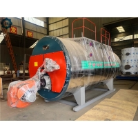 Energy Saving Fully Automatic Fire Tube Industrial Oil Gas Steam Boiler for Heating for sale