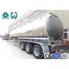 Best 170 HP 3 Axle Fuel Tank semi trailer Sinotruk 13 Ton Customized Design wholesale