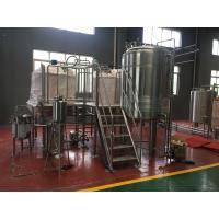 Best Small Capacity Beer Brewing System 10Hl Fermentation Tanks Stainless Steel Fermenter wholesale