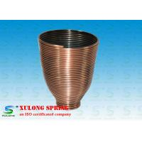 Best Steel Copper Plating Display Specialty Springs Cup Shaped Left Direction wholesale
