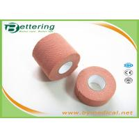 Brick Red Colour synthetic elastic finger protection tape Wrist Protection Fixation Tape for wound dressing for sale