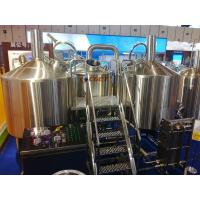 Best SUS 304 Craft Beer Brewing Equipment 1000L Brewing System With ISO CE Certificated wholesale