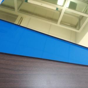 Best Gold Colour High Reflective Mirror Finish Aluminum Sheet , Mirror Polished Aluminium Sheet wholesale