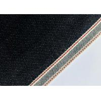 Best Customize Design Stretch Denim Fabric For Skinny Selvedge Jeans 31mm Width wholesale
