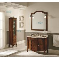 Best Waterproof Solid Wood Transitional Bathroom Vanities With Left Or Right Side Cabinet wholesale