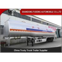Quality Cabon steel material Fuel Tank Semi Trailer 3 axles 6 cabins wholesale