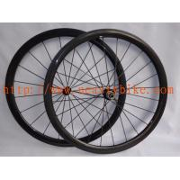 China carbon fibre wheelset, 38mm Carbon clincher road wheelset ,bicycle wheel on sale
