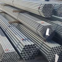 Best Anti Corrosion Galvanized Round Tubing , Straight Welded Pipe For Construction wholesale