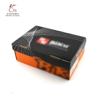 China E Flute Corrugated Custom Shoe Box Packaging 300gsm CCNB for sale