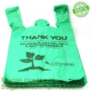 China Kitchen Plastic Custom Printed 13 55 Gallon Gold Compostable Drawstring Trash Bag Biodegradable Trash Bags ECO FRINEDLY on sale