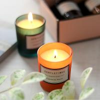 Best Christmas Luxury Packaging Home Scented Candles Colorful Glass Candle Jar wholesale