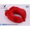 Quality U Shape Memory Foam Pillows / Multifunctional U shape Neck Pillow With Pouch wholesale