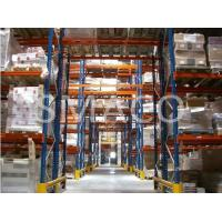 China 500 Kgs UDL Adjustable Industrial Pallet Racking Safety , Q235B Steel Metal on sale
