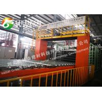 China High Efficient Mineral Fiber Ceiling Board Production Line With Heat Insulation on sale