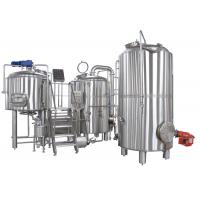 Buy cheap 50-5000L Clean And Polish 2 Vessel Brewhouse Brewing Equipment Steel True Color from wholesalers