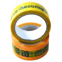 Buy cheap One-Time Use Anti Thief Tamper evident Security Tape Size Follwo Customer from wholesalers