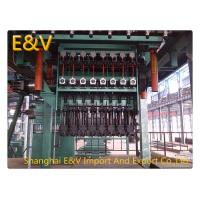 Quality metal rod wire continuous roll mill by separated motor Oxygen Free Copper Rod Copper Continuous Casting Machine wholesale
