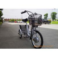 Buy cheap Mini 20 / 16 inch 3 wheeled electric bike  , Samsung lithium battery powered tricycle from wholesalers