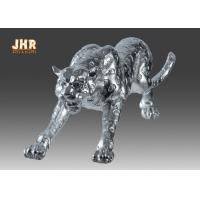 Best Polyresin Animal Figurines Glass Tiger Statue wholesale