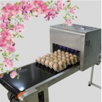 Best Printing 120000 Eggs / H Egg Stamping Machine For Bar Code Or Graphic LOGO wholesale