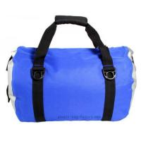 Best Blue Roll Top Waterproof Sports Bag 0.5mm Thickness With Shoulder Straps wholesale