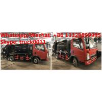 Best HOT SALE! customized SINO TRUK HOWO 4*2 RHD 4.5m3 garbage compactor truck,HOWO Light duty refuse garbage truck, wholesale