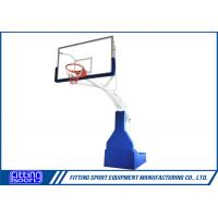 Best Spring Assisted FIBA Standard Full Size Basketball Stand wholesale