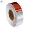Best Adhesive DOT Reflective Tape , Honeycomb Hi Viz Fmcsa Reflective Tape On Dump Trucks wholesale