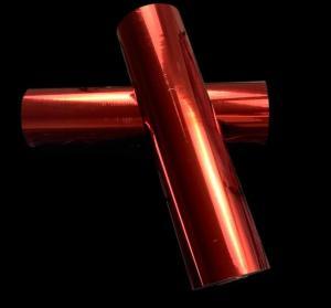 China Matt red color metallized bopp lamination film two sides corona treatment on sale