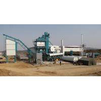 Quality Fixed Type Asphalt Batching Plant 2 Stage Duster 50T Hot Aggregate Storage Bin wholesale