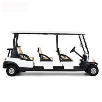 Best Comfortable Electric 6 Passenger Golf Carts For Mountain Energy Saving wholesale