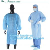 Sterile blister packing for SMS/PP surgeon Gown,  Protective Sterile Hospital Disposable Medical, Nonwoven Medical Clot for sale