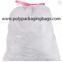 China Degradable Colorful Plastic Drawstring Garbage Bags W42 x L44cm on sale